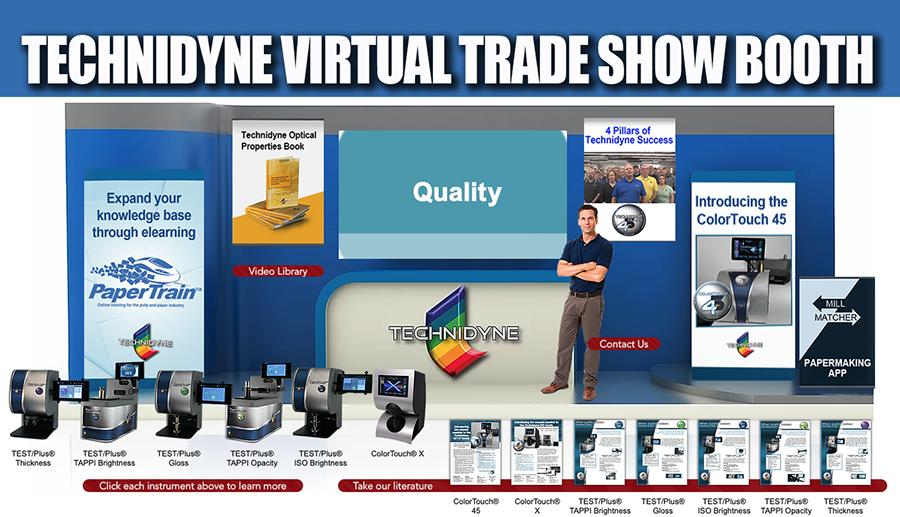 Trade Show virtual Technidyne