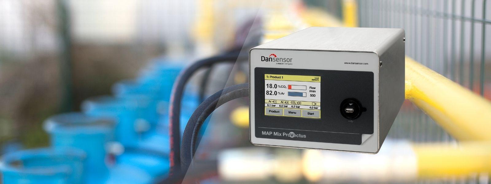 mixer de gás atmosfera modificada